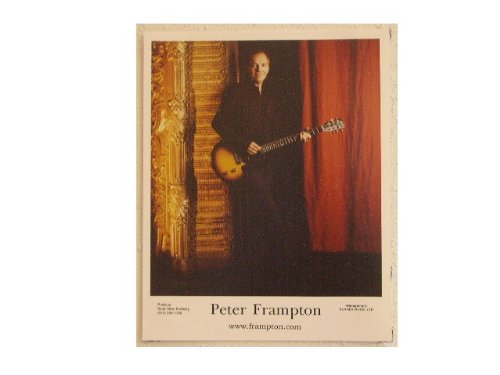 Peter Frampton Press Kit and Photo by Rhythmhound