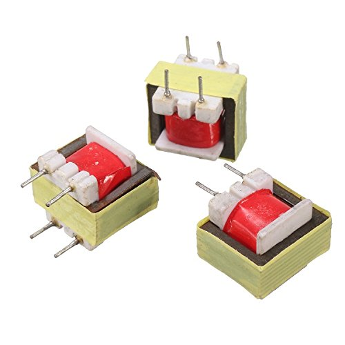 MYAMIA 10Pcs 1300:8 Ohm Audio Transformer Ee14 Transformateur Audio Pos Transformador