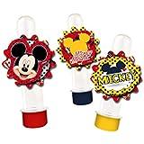 Aplique Decorativo R276 Mickey Classico - Pacote Com 54 Un Regina Colorido