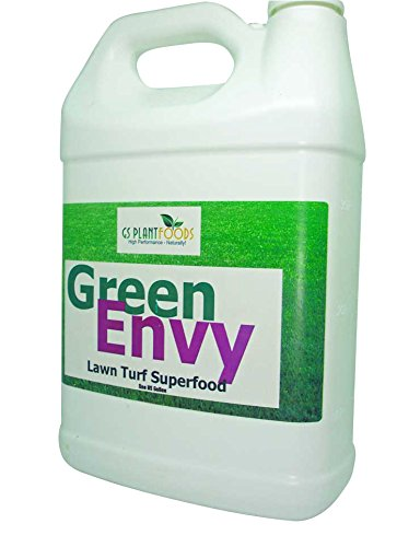 GS Plant Foods Green Envy- Lawn Turf Superfood, 1 Gallon Concentrate