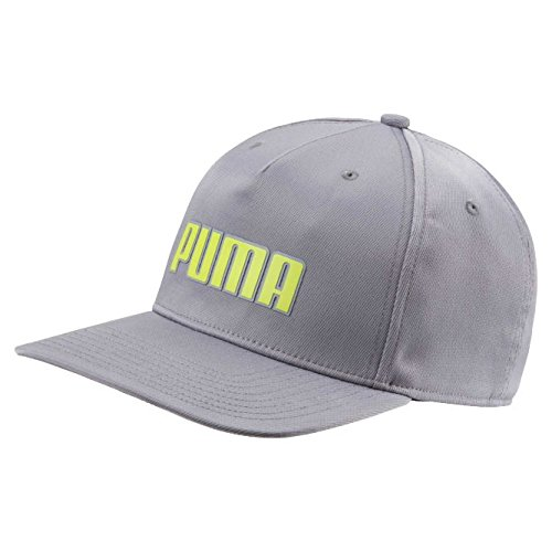 78b8974fe3b Amazon.com   Puma Golf 2018 Kid s Go Time Snapback Hat (Bright White ...
