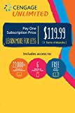 Cengage Unlimited, 1 term (4 months), 1st Edition [Online Code]: more info
