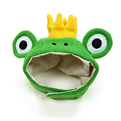 Prince Frog Dog Hat by Dogo (X-Large)