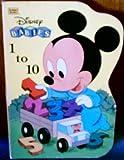 Disney Babies One to Ten, Fran Manushkin, 0307123243