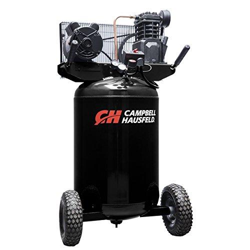 Campbell Hausfeld Air Compressor, 30 gallon Vertical Portable Single-Stage 5.5CFM 2Hp 120/240V 1Ph (VT6367)
