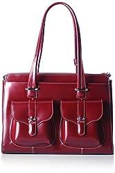 Mckleinusa Alexis 96546 Red Leather Ladies' Briefcase