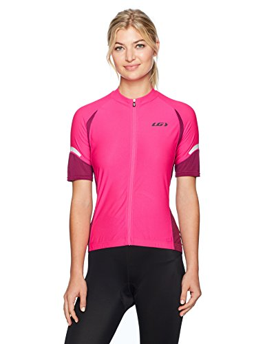 - Louis Garneau W's Ride Cycling Jersey, Pink, Small