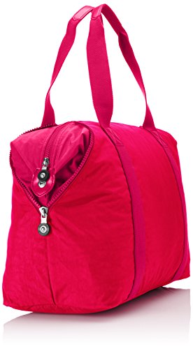 Red Multicolore Rouge Art Kipling Flower Voyage blk BL Vibrant Couleur Urban de M Sac Multi qaqwO4R