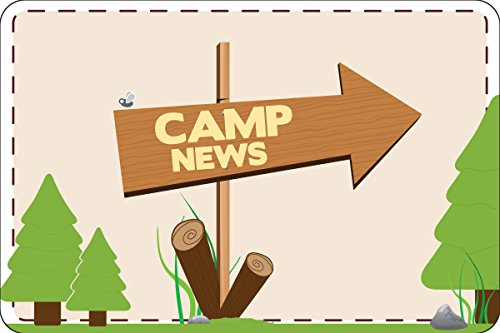 "This Way To Camp Postcards | Kid Postcards | Camp Stationery | 6"" X 4"" Postcards for Kids"