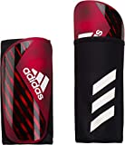 adidas Men's X Pro Shin Guards, Active Red/Black/Off White, Medium