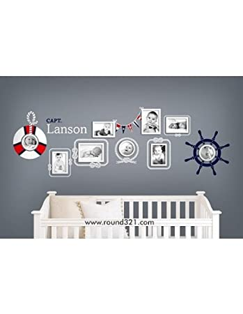 Amazon.com: Nautical Themed Picture Frames With Steering Wheel ...