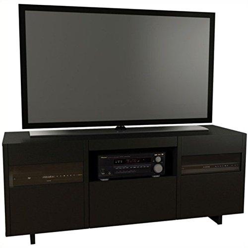 Nexera Vision 60-inch TV Stand 101406 from, Black -