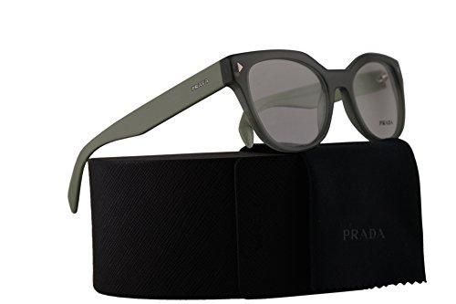 Prada PR21SV Eyeglasses 51-19-140 Opal Dark Green w/Demo Clear Lens UEI1O1 VPR21S VPR 21S PR - Usa Www.prada.com