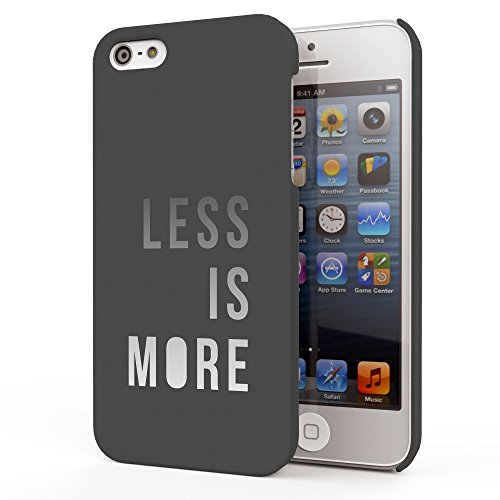 Koveru Back Cover Case for Apple iPhone 5S - Less is more