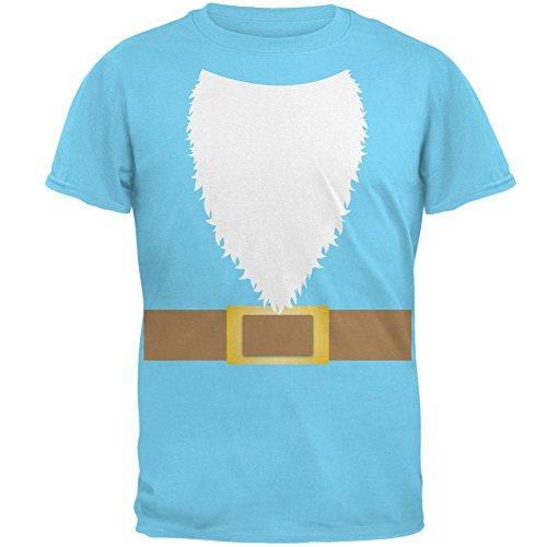 Halloween Lawn Gnome Costume Mens T Shirt Sky SM