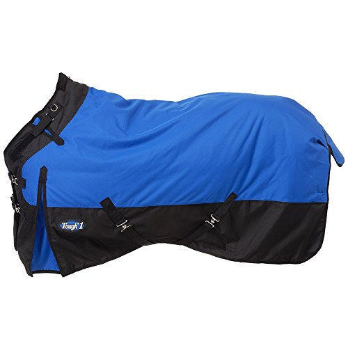 (Tough-1 1200D Snuggit Turnout 200g 72In Royal Blue)