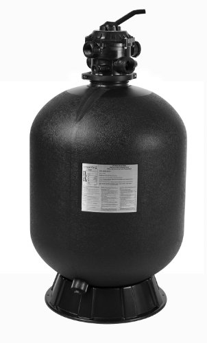 Sta-Rite 145361 Cristal-Flo  II Top Mount High Rate Sand Pool Filter, 2.3 Square Feet, 60 GPM, with Multiport Valve