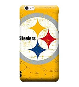 iPhone 6 Cases, NFL - Pittsburgh Steelers - Alternate Distressed - iPhone 6 Cases - High Quality PC Case
