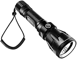 One Size Multi Geo Shipping LED Torch with Keyring Case Light Blue