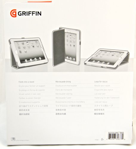 Griffin Elan Folio Case For iPad 2 3 & 4th Gen - Gray - All Repair Parts USA - Griffin Elan Folio