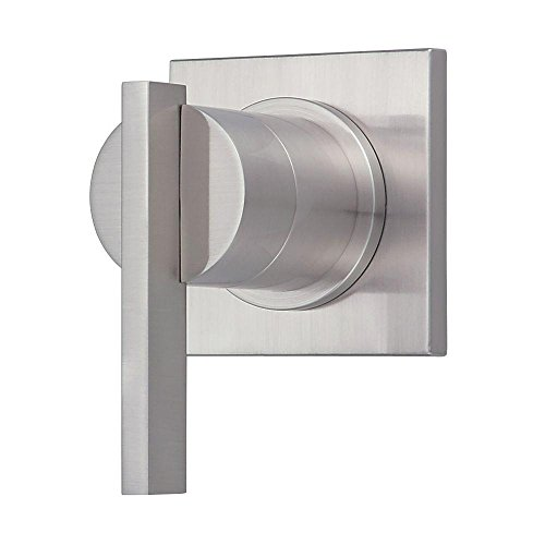 Danze D560944BNT Sirius Single Handle Trim Kit for 3/4-Inch Volume Control/Shut-Off Valve or 3-Port/4-Port Shower Diverter, Valve Not Included, Brushed Nickel