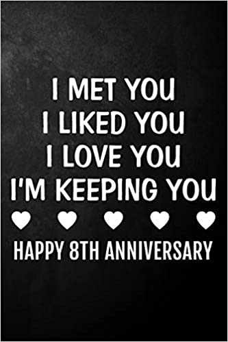 Buy I Met You I Liked You I Love You I M Keeping You Happy 8th