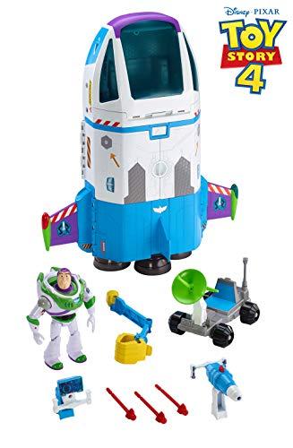 Buzz Lightyear Star Command - Toy Story Disney Pixar Star Command Spaceship Playset