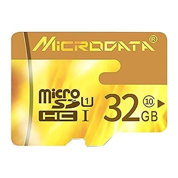 KANEED Tarjeta de Memoria MICRODRIVE 32GB U1 Red TF (Micro ...