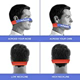 NEKMATE Neckline Shaving Template and Hair Trimming Guide | Barber Style DIY Hands-Free Cut, Trim, and Shave Use for Straight Lines | Non-Slip, Skin Safe Silicone