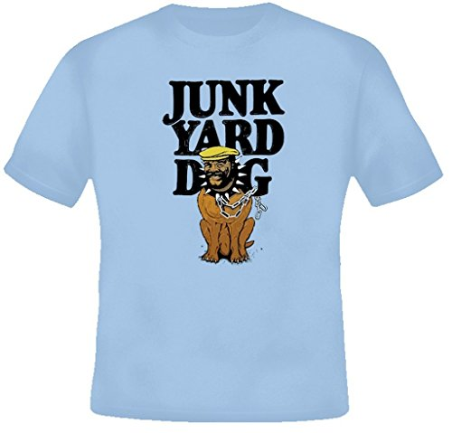 JunkYard Dog JYD Retro Wrestling T Shirt XL Light Blue by The Village T Shirt Shop