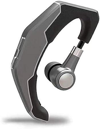 Auriculares FHW Bluetooth Manos Libres Fashion Negocios Estéreo Teléfono Escuchar Gancho del oído solicitar y Android con micrófono Tapones for los oídos de reducción de Ruido