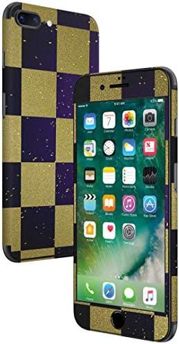 igsticker iPhone SE 2020 iPhone8 iPhone7 専用 スキンシール 全面スキンシール フル 背面 側面 正面 液晶 ステッカー 保護シール 007742 チェック・ボーダー 市松模様 和風 和柄