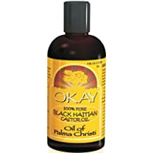 Okay 100% Pure Oil For Skin And Hair - Castor Black Haitian 100 ml by OKAY