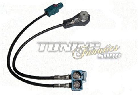 Diversity Fakra Antena Adaptador Cable Cable algodón Conector ...