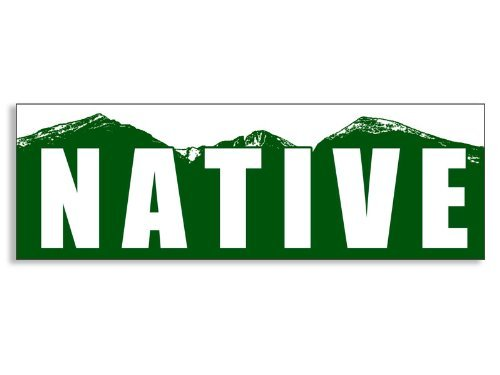 NATIVE Colorado Mountain Bumper - Colorado Native