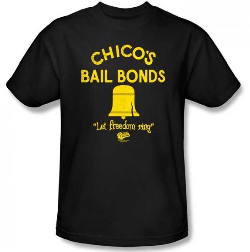 The Bad News Bears - Chico's Bail Bonds T-Shirt Size XL Bail Bonds