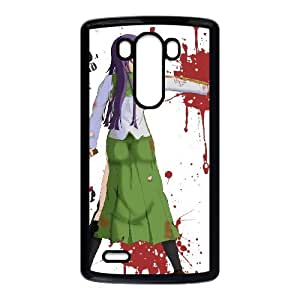 HIGHSCHOOL OF THE DEAD LG G3 Cell Phone Case Black P6P9CL