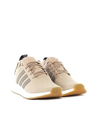 Adidas Uomini Nmd_r2 Scarpe Per Il Fitness, Nero Verde (caqtra / Marsim / Negbas)