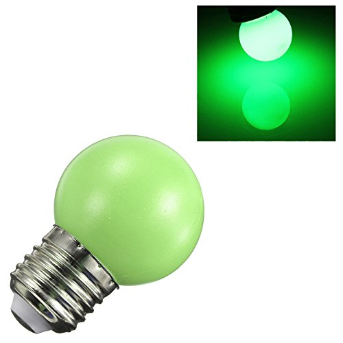 TOOGOO(R) E27 3W 6 SMD LED Energy Saving Globe Bulb Light Lamp AC 110-240V, Green