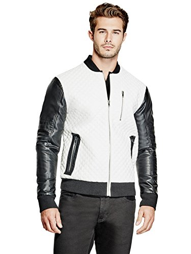 Quilted Knit Bomber Jacket - 5