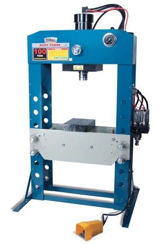 Baileigh HSP-100A Shop Press, 100 Ton Capacity, 3-1/2
