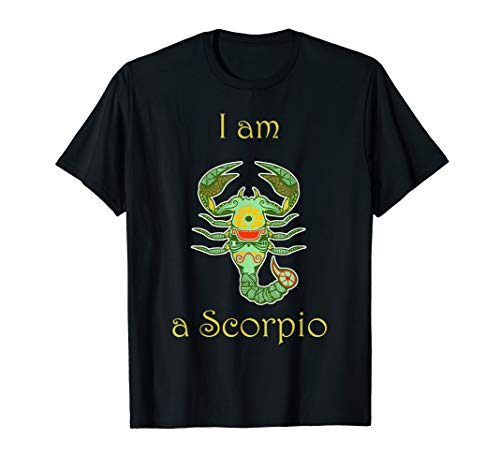 I Am A Scorpio Zodiac Horoscope Symbol Novelty ()