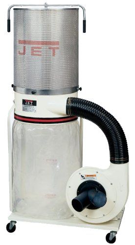Jet DC-1100VX-CK Dust Collector 1.5HP 1PH 115/230-Volt 2-Micron Canister Kit