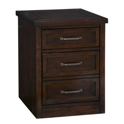 Cabin Creek Chestnut Mobile File Cabinet by Home Styles