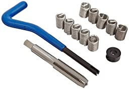 E-Z Lok EK21020 Helical Threaded Insert Kit, 304 Stainless Steel, 3/8\