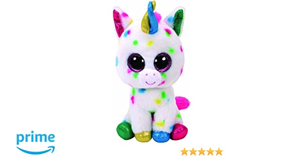 Ty Harmonie Peluche Unicornio, Color, Blanco (United Labels Ibérica 37266TY): Amazon.es: Juguetes y juegos