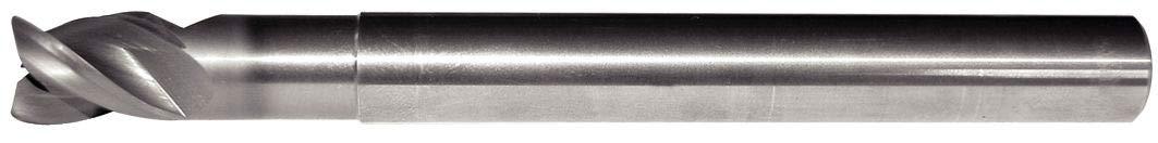 0.015 Radius WIDIA Hanita 5AN305042A AluSurf 5AN3 HP Aluminum End Mill 3-Flute Carbide Uncoated 0.1875 Cutting Dia 0.25 LOC RH Cut