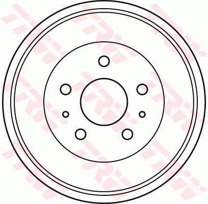 TRW DB4392/Brake Drum x2