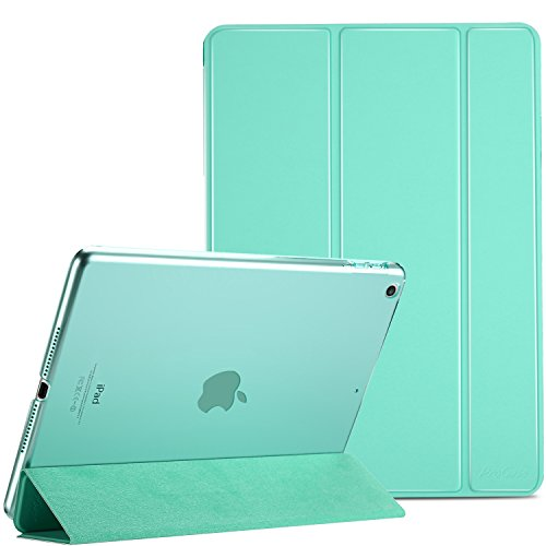 ProCase New iPad 9.7 Case 2017 iPad 5th Generation Case - Ultra Slim Lightweight Stand Case with Translucent Frosted Back Smart Cover for 2017 New Apple iPad 9.7 Inch (5th Generation Skin)