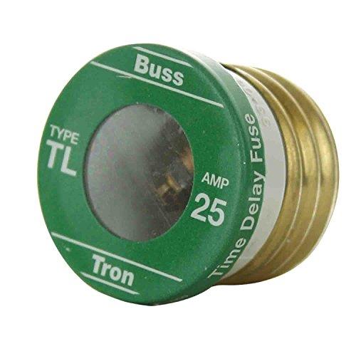 Sunlite TL25/4PK 25 AMP Edison Base Plug Fuse 4PK Cooper